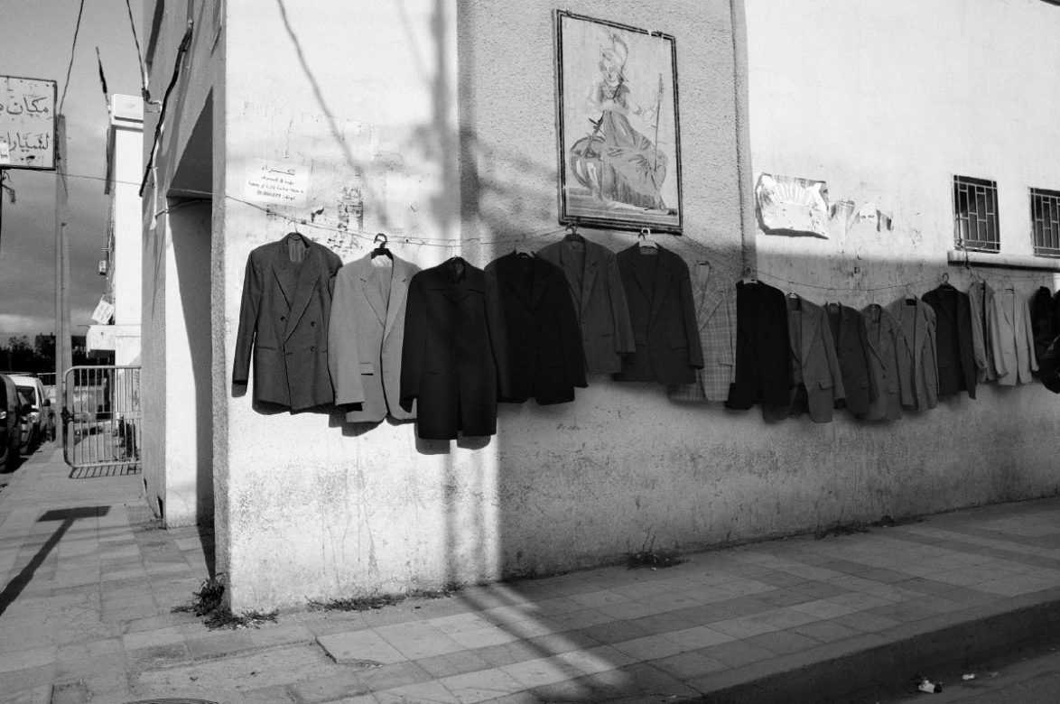 A street scene in the city of Jendouba. Jendouba, 2013. Tunisia.